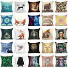 Animals & Skull Polyester Pillow Case Pillow Cover Cushion Cover Home Decor