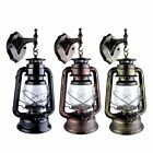 Traditional Vintage Style Wall Lights Glass Lamp Shades Lantern Thrift Sconce