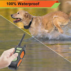 Remote Dog Shock Collar Waterproof & Rechargeable Training Collars for 1-3 dogs