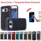 Shockproof Hybrid Rubber Armor Hard Case Phone Cover For Samsung Galaxy J7 Prime