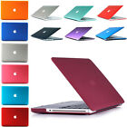 Rubberized Hard Shell Case Cover for Macbook Air 11/13 Pro 13/15 Retina 12 inch