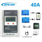 EPEVER 100V 40A MPPT Solar Charge Controller Wifi Serial Server+WIFI+MT50 LCD