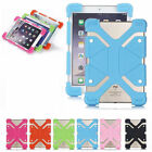 For AT&T Trek 2 HD 8in Tablet Shockproof Stand Soft Silicone Elastic Cover Case