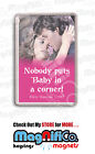 Dirty Dancing Movie Quote - Fridge Magnet or Keyring - Patrick Swayze / Gray