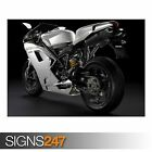 DUCATI 1198 SUPERBIKE 2 (AC517) BIKE POSTER - Photo Poster Print Art * All Sizes