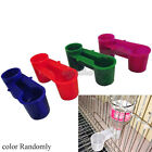 Plastic Pet Bird Drinker Feeder Water Bottle Cup For Dove Chicken Pigeon