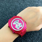 2017New Brand Design Fashion Luxury Women Led Electronic Watch Lady Bear Watches