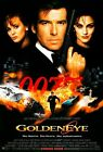 Goldeneye JAMES BOND FILM MOVIE METAL TIN SIGN POSTER WALL PLAQUE £12.99 GBP