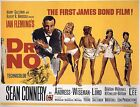 JAMES BOND DR.NO  FILM MOVIE METAL TIN SIGN POSTER WALL PLAQUE £12.99 GBP