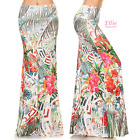Tropical Floral Sublimation high waist maxi long skirt (S/M/L/XL/1XL/2XL/3XL)