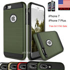 Shockproof Hybrid Rubber Hard Protective Case Cover For Apple iPhone 8 7 Plus