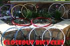 """BICYCLE ALLOY WHEELSET 26""""X2.125"""" Rims Blue Black Red Silver White Purple Yellow"""