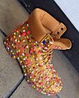 Men's Timberland Handpainted Wheat/Multi-color Boots