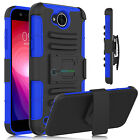 Shockproof Belt Clip Holster Hard Phone Case Cover For LG X Charge / Fiesta LTE