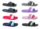 New Women's Ultra Soft Sports Slide Sandals Shower-Pool-Gym-Garden-House- 03L