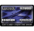 Esquire Theatre Group Gift Card - $25, $50 or $100  Email delivery