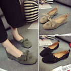 Women's Casual Hollow Out Flat Shoes Girl's Retro Loafers Moccasin-gommino Pumps