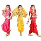 Children Girls Belly Dance Performance TopHarem Pants School Halloween Costume