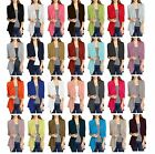 Womens Lightweight Long Sleeve Open Front Cardigan-Made in USA (S-3X) Plus size