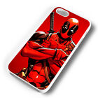CARTOON DEADPOOL ARMS RUBBER PHONE CASE COVER FITS IPHONE 4 5 6 7 (#WR)