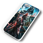 SITH LORDS STAR WARS COLLAGE RUBBER PHONE CASE COVER FITS IPHONE 4 5 6 7 (#WR)