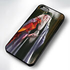 PHOENIX & DUMBLEDORE HP RUBBER PHONE CASE COVER FITS IPHONE 4 5 6 7 (#BR)