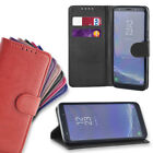 Wallet Flip Leather Cover Case for Sony Xperia XA1 + Screen Guard + Small Stylus