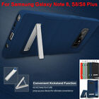 Bumper TPU Skin Wrap for Samsung Galaxy S8 Case Scratch Resistant With Kickstand