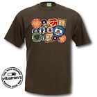 Northern Soul Patches T-Shirt. Retro Tee Comedy Novelty T-shirts Cool