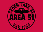 AREA 51 T-SHIRT Ufo Paranormal SCIENCE FICTION  Ancient Astronaut Alien T-SHIRT