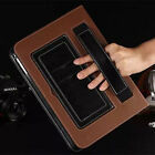 Luxury Leather Handheld Case ID Card Stand Cover Skin For Apple iPad Mini /Air 2