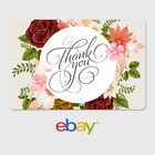 eBay Digital Gift Card - Thank You - Flower Array -  Fast Email Delivery