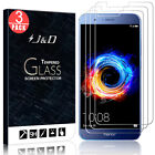 J&D Honor 8 Pro/Honor V9 [Tempered Glass] HD Clear Screen Protector (3 Packs)