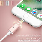 Magnetic Lightning Fast Charging Charger Cable Adapter For Iphone 7 6 6s Plus 5