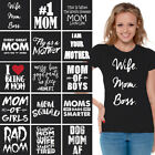 Mom Shirt Perfect Gift for Mothers Day Super Mom Life T Shirt