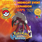 Pokémon SUN & MOON – LYCANROC MIDNIGHT EVENT TCG EXPANSION - 6IVs