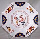 Mikasa Far East Soup Bowl L6104 Red Yellow Flowers Blue Gold Trim Asian China