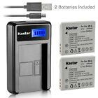 Kastar NB-4L Battery Charger for Canon PowerShot ELPH 310 HS ELPH 330 HS Camera
