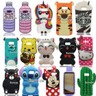 3D Cartoon Soft Silicone Case Back Cover Skin For Samsung Galaxy S8 / S8 Plus