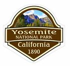 Внешний вид - Yosemite National Park Sticker Decal R1464 California YOU CHOOSE SIZE
