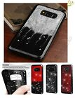 Samsung GALAXY S8 / Plus BLING Hybrid Glitter Sparkle Rubber Silicone Case Cover