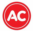 Ac Spark Plug Sticker Decal R605