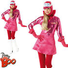 Penelope Pitstop Ladies Wacky Races Fancy Dress Adults Cartoon Character Costume
