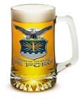 U.S. Air Force Branch 25 Ounce Beer Mug Tankard Glasses- 2 Pc Set