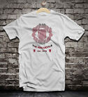 Manchester United distressed soccer t-shirt camiseta jersey black white colors