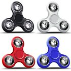 2 PACK Of Tri Fidget Hand Spinner,  Ultra Fast Bearings,  Finger Toy. Great Gift!