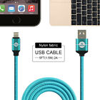 ESOULK 5FT STRONG Braided USB Data Sync Charger Cable Cord for iPhone 7 Plus 6S