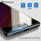 Cafele Full Cover Clear Tempered Glass Screen Protector For XiaoMi Mi 5 5S Plus