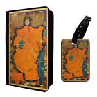 Vintage Poster East Africa Luggage Tag & Passport Holder - T2623