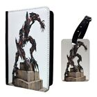 Transformers Fallen Printed Luggage Tag & Passport Holder - T2785